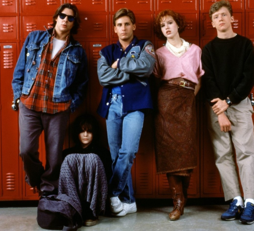 breakfast club movie review Five high school students, andy, brian, claire, john and allison are sentenced to detention and are forced to spend their saturday in the school library.