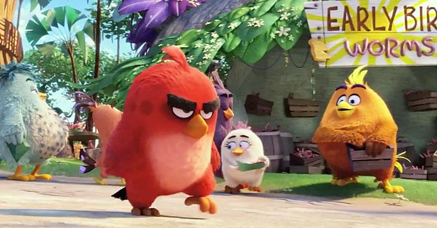 the angry birds movie movie review film racket movie reviews