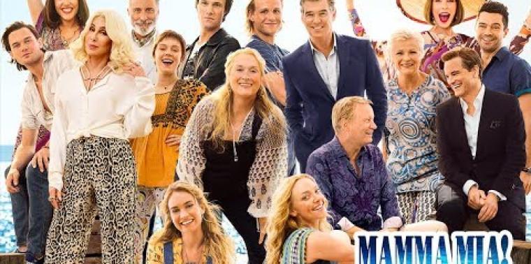 Mamma Mia! Here We Go Again (Trailer)